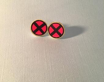 X Men Stud Earrings