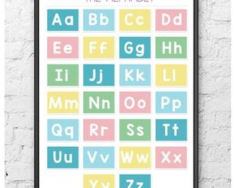 The Alphabet Poster (Printable/Digital Download)