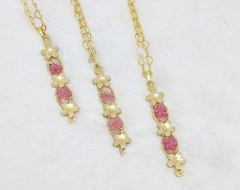 Sakura Matsuri Long Blossom Pendant - Choice of 3