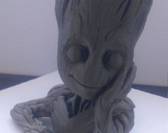 Bust Baby Groot guardians of the galaxy
