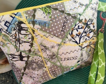 Spring In Paris Clutch Bag