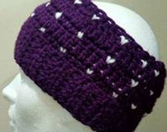PDF pattern for Snowfall Beanie, this is PATTERN ONLY, not a finished product