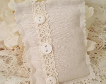 Vintage Linen Lavender Sachet