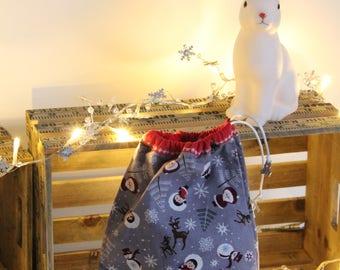 Bag snack of Christmas little snowmen
