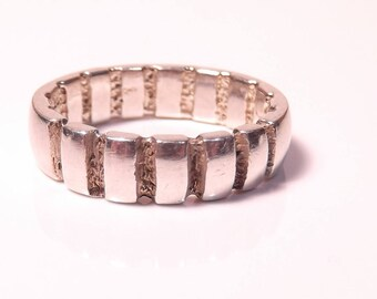 Silver Vintage Design Ring