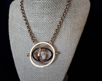 Harry Potter Time Turner Chainmaille 2-in-2 Necklace