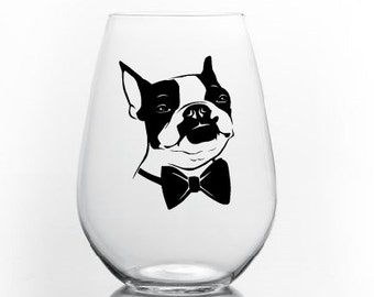 Sticker 'Boston terrier '.