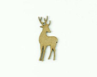 Reindeer Santa Claus for scrapbooking