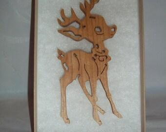Handcrafted Reindeer Ornament