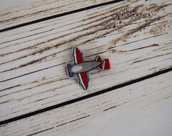 Airplane Hair Clip - Air Force Bow - Air Force Baby - Little Girl Hair Clip - Feltie Hair Clip - Primary - Christmas Gifts -Stocking Stuffer
