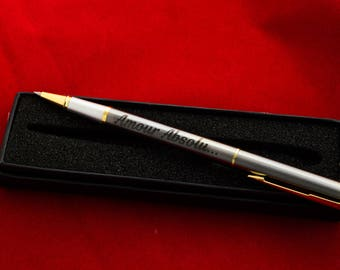 Personalised Pen, Engraved Pen, Great Graduation Gift, Wedding Gift, Birthday Gift, Corporate Gift gift for men gift for woman with gift box