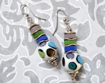 Spotted Ethnic Inspired Earrings (2894)