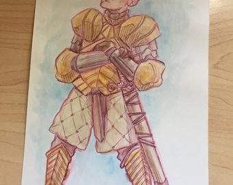 Brienne of Tarth Original Art
