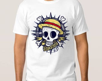 One Piece Anime Art T-Shirt, All Sizes