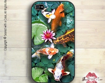 Goldfish / Koi Pond - iPhone 4/4S 5/5S/5C/6/6+ and now iPhone 7 cases!! And Samsung Galaxy S3/S4/S5/S6/S7