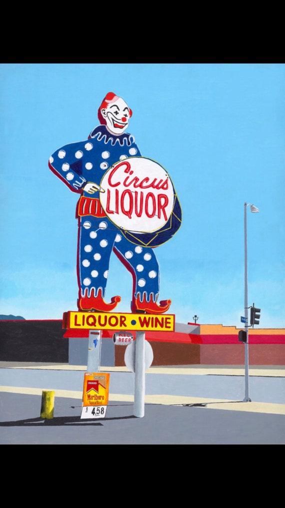 Circus Liquor Clown 2X