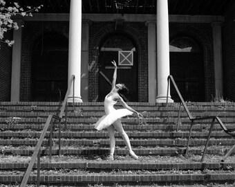 "Ballerina Art Print entitled, ""Condemned"" 8 x 10"