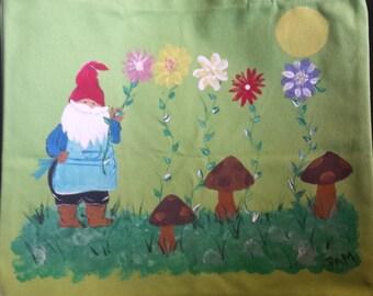 Gnome tote/bag