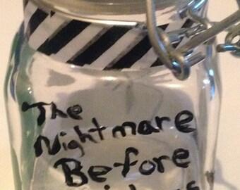 The Nightmare Before Christmas Jars