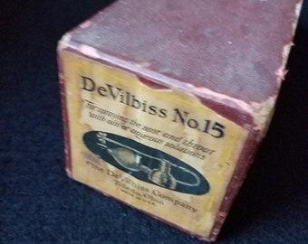 1930s DeVilbiss No 15 Nasal Atomizer