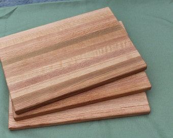 Handmade reclaimed wood cutting boards