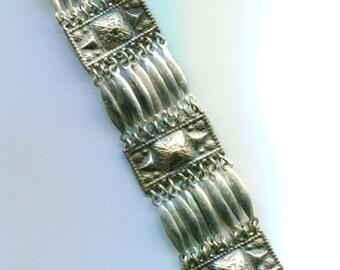 Vintage Mexican  Silver Bracelet B257