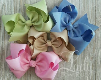 Ch.5~Hair-bow bundle made to match Matilda Jane-The Adventure begins~bows for girls~baby bows~bundled hair-bows~choose your size hair-bows~~