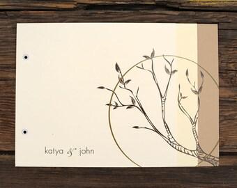 Framed Tree Branch Wedding Invitations
