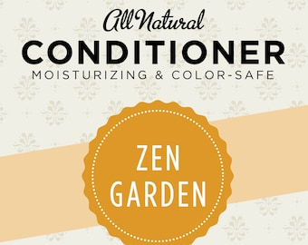 Zen Garden Bulk Conditioner  1 Liter (33.8 fl oz)