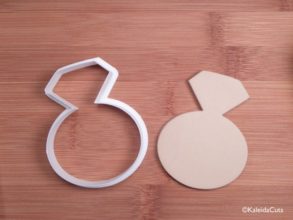 Ring Cookie Cutter. Engagement Ring Cookies. Wedding Cookie Cutter ...