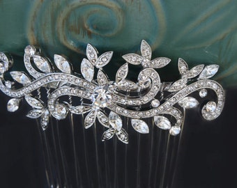 crystal hair comb,hair comb,wedding hair comb,vintage comb,rhinestone comb,bridal hair comb,wedding hair accessories,bridal hair accessories