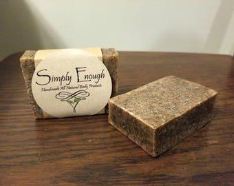 Handmade All-Natural Goats Milk Soap - Irish Cream Coffee