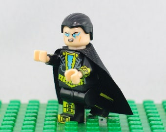 Black Adam Custom minifigure (Lego Compatible) DC Comics Shazam Villain United Justice Society League America Infinite Crisis Christmas Gift