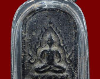Certificate of Authenticity by DD-PRA Year 1932 Antique Buddha Chinnarat BE.2475 Wat Sam Pluem