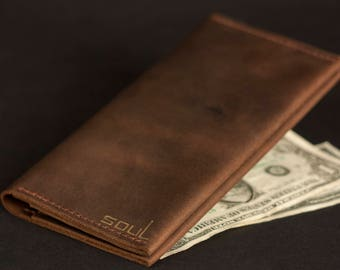 Man's wallet. Travel leather wallet. Women's wallet. Card holder. Big wallet.Card wallet.Large leather wallet.Original wallet.FREE SHIPPING!