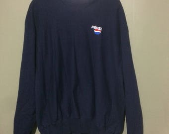 Pepsi embroidered crewneck size xl