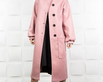 Maxi winter coat, Maxi coat, Loose cashmere coat, Loose wool coat, Cashmere wool coat, Maxi winter jacket, Oversize warm jacket/ C0026