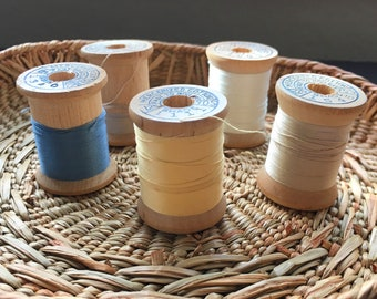 Belding-Corticelli Thread Spools - Set of 6