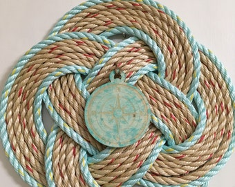Turks Head Knot Wreath / Compass