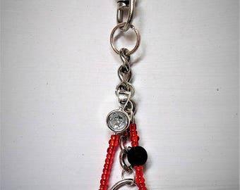 Keychain bag and beads