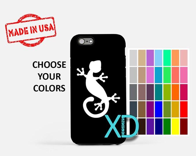 Simple Lizard iPhone Case, Gecko iPhone Case, Lizard iPhone 8 Case, iPhone 6s Case, iPhone 7 Case, Phone Case, iPhone X Case, SE Case