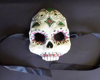 Day of The Dead Mask, for men, Dia de la muertos, calaca, skull mask