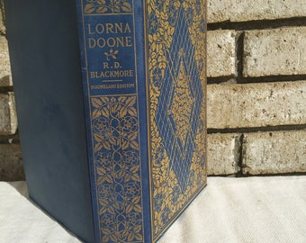 1909 Larna Doone A Romance Of Exmoor by R.D. Blackmore