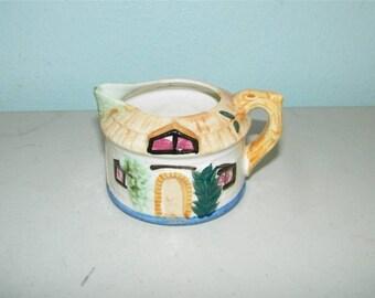 Vintage Made in Occupied Japan Cottage House Creamer 11450