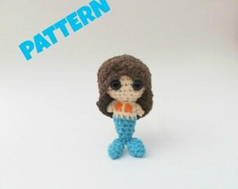 Crochet Mermaid Pattern, Crochet Doll Pattern, Amigurumi Patterns, Kids Toys, Crochet Patterns, Doll Pattern, Amigurumi Doll Pattern