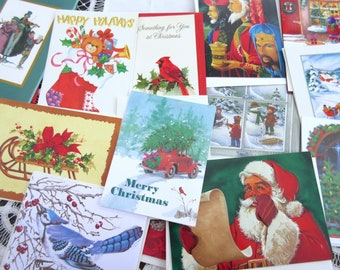 Christmas Cards  Unused  Greeting Cards Holiday  - Set of 15 cards.