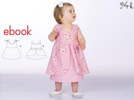 Schnittmuster Hängerchen Babykleid Mädchenkleid Kleidchen