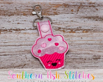 Love Muffin SnapTab Embroidery Digital Download