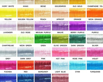 30FT - 2MM Rattail Satin Cord Shamballa Macrame Nylon Kumihimo Trim Artisan String - Pick Your Color!