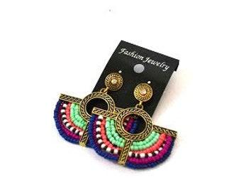 NON BPD SALE Aztec Earrings